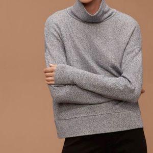 Aritzia community allora turtleneck sweater